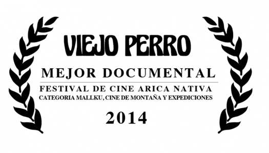DOCUMENTAL VIEJO PERRO GANA FESTIVAL DE CINE ARICA NATIVA