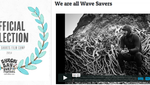 !We are all Wave Savers es finalista en Byron Bay Surf Festival!