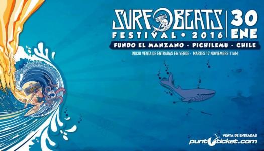 Comienza preventa de entradas para el SurfBeats Festival