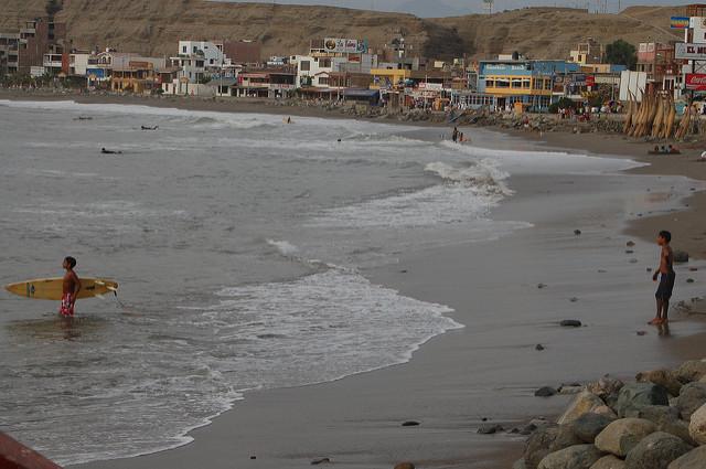 Huanchaco, Perú.