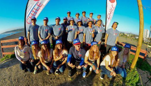 Seleccionados chilenos se preparan para ir al Mundial ISA Junior de Portugal