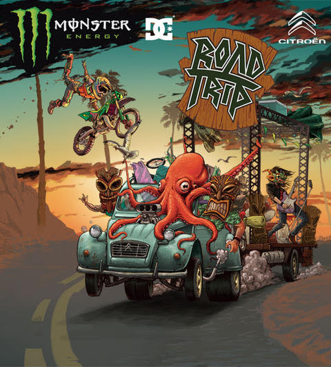 MOSTER ROAD TRIP BY CITROEN
