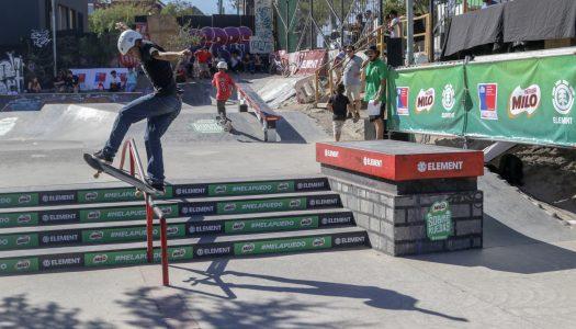 Los skater del futuro la patearon en el MILO Sobre Ruedas by Element