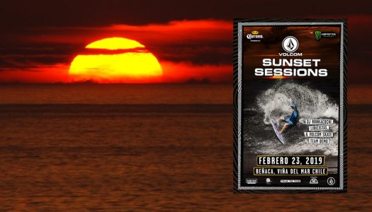 Volcom Sunset Sessions promete surf nocturno, música y arte en Reñaca