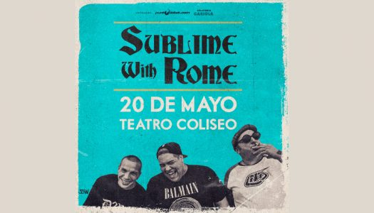 Sublime with Rome confirma concierto en Chile